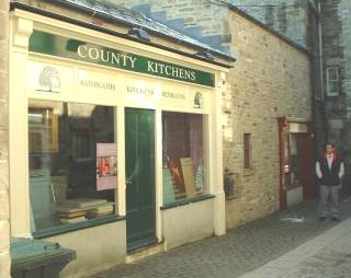County Kitchens showroom, Leyburn, North Yorkshire