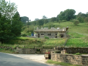 Another Magnificent RAW-built home under construction in the North Yorkshire village of Ramsgill